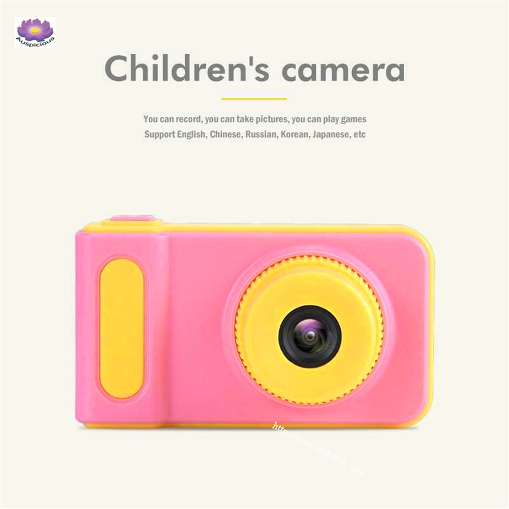 "The Best High Quality Cheap Mini 2"" Screen 100° Angle Lens 1080P HD Children Kid Camera for Photo Video Game Made In China"