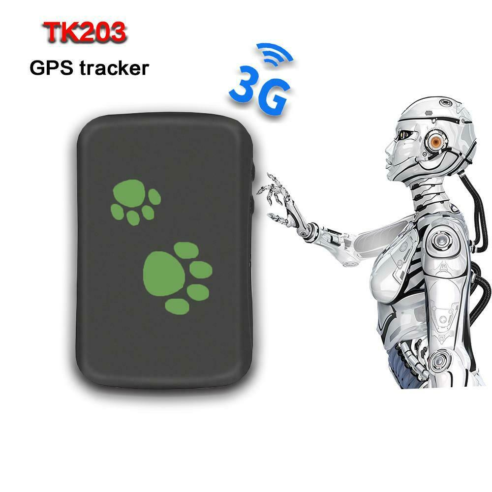 High Quality Hot Sale Popular TK203 900mah Accurate GPS Device for Pets and Cars Anti-Lost Pet Gps Tracking GPS 3G 2G Network Gps Tracker Made In China Factory
