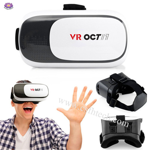 The 2019 Best Quality TRENTECH Mini VR Box Virtual Reality Headsets with Ultra Polished HD Optical Lenses 3D Glasses  (Smart Glasses)  Made In China Factory