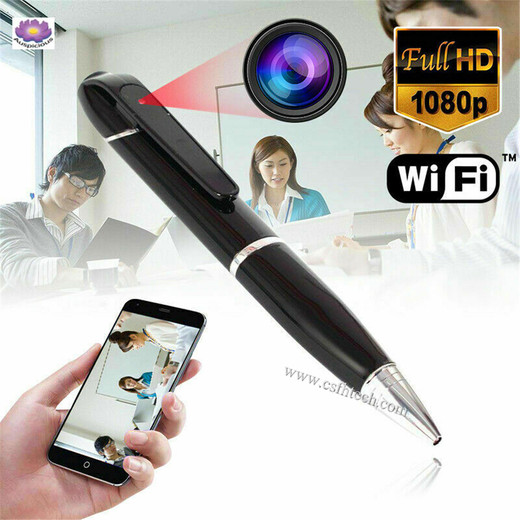 The Best High Quality WiFi Wireless Digital Video Hidden HD 1080P Camera Pen For Meeting Home Office Made In China