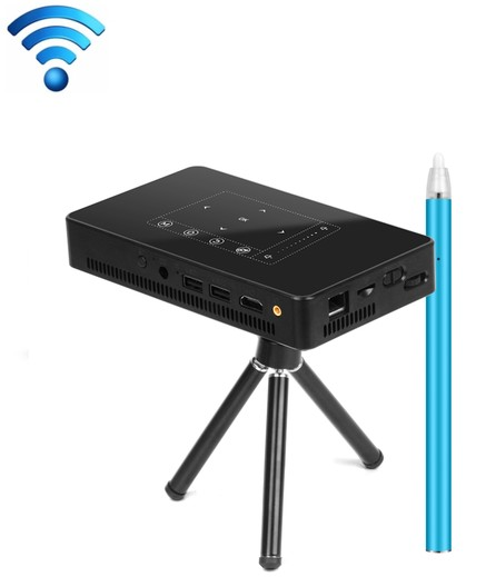 2020 The  Best New High Quality   854 x 480 Android 7.1.2  10Plus Mini Pocket Projector 4K DLP Smart Handheld LED WIFI Home Theater Projector, Support USB / TF / HDMI  Made In China Factory