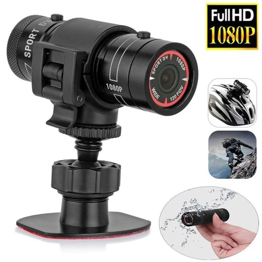 High Quality Mini F9 HD 1080P Bike Motorcycle Helmet Sport Camera Video Recorder DV Camcorder Mini Camera Motorcycle Helmet Action DVR Video Made In China Factory