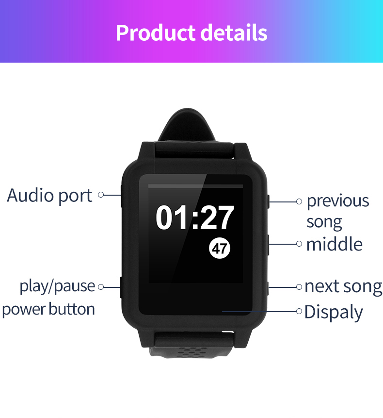 Mp4 wireless bluetooth watch E-book 21.jpg